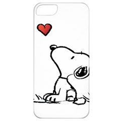 Snoopy Love Apple Iphone 5 Classic Hardshell Case