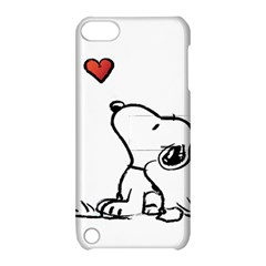 Snoopy Love Apple Ipod Touch 5 Hardshell Case With Stand