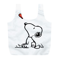 Snoopy Love Full Print Recycle Bags (l)