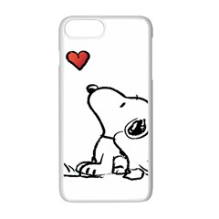 Snoopy Love Apple Iphone 7 Plus Seamless Case (white)