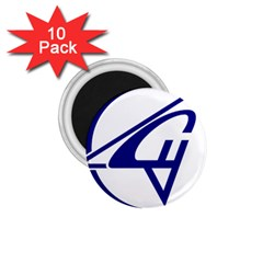 Sukhoi Aircraft Logo 1 75  Magnets (10 Pack)  by Samandel