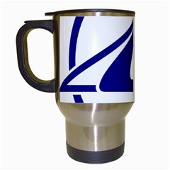 Sukhoi Aircraft Logo Travel Mugs (white)