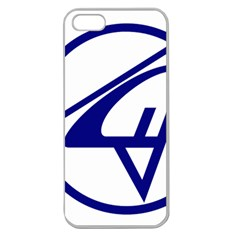 Sukhoi Aircraft Logo Apple Seamless Iphone 5 Case (clear)