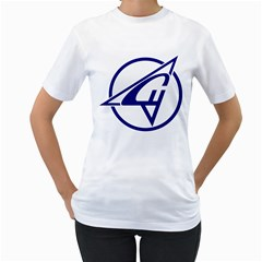 Sukhoi Aircraft Logo Women s T Shirt (white)