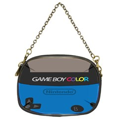 Game Boy Colour Blue Chain Purses (one Side)