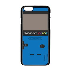 Game Boy Colour Blue Apple Iphone 6/6s Black Enamel Case