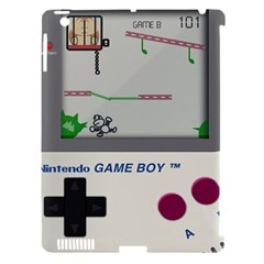 Game Boy White Apple Ipad 3/4 Hardshell Case (compatible With Smart Cover) by Samandel