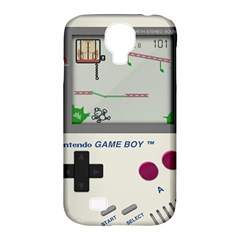 Game Boy White Samsung Galaxy S4 Classic Hardshell Case (pc+silicone)