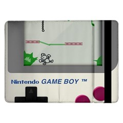 Game Boy White Samsung Galaxy Tab Pro 12 2  Flip Case by Samandel