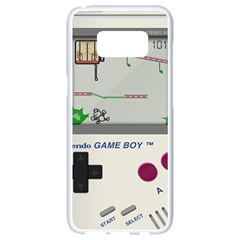 Game Boy White Samsung Galaxy S8 White Seamless Case