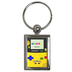 Game Boy Yellow Key Chains (rectangle)