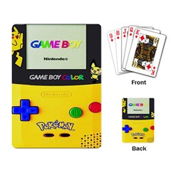 Game Boy Yellow Playing Card by Samandel
