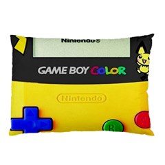 Game Boy Yellow Pillow Case