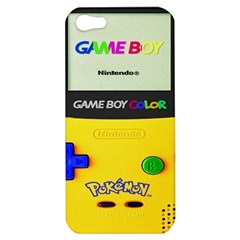 Game Boy Yellow Apple Iphone 5 Hardshell Case by Samandel