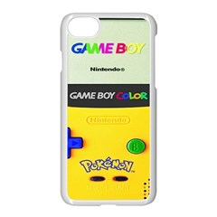 Game Boy Yellow Apple Iphone 8 Seamless Case (white)