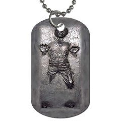 Han Solo Dog Tag (two Sides)