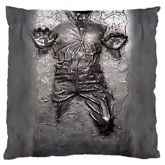 Han Solo Large Flano Cushion Case (one Side)
