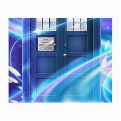Tardis Space Small Glasses Cloth (2 Side)
