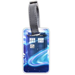 Tardis Space Luggage Tags (one Side)  by Samandel