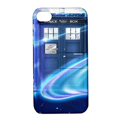 Tardis Space Apple Iphone 4/4s Hardshell Case With Stand by Samandel