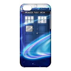 Tardis Space Apple Iphone 5c Hardshell Case