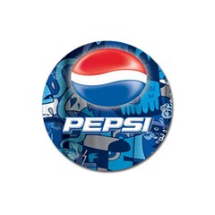 Pepsi Cans Magnet 3  (round)