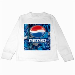 Pepsi Cans Kids Long Sleeve T Shirts