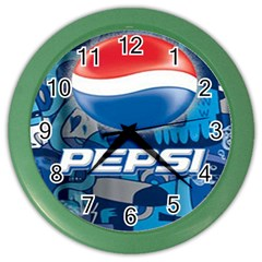 Pepsi Cans Color Wall Clocks