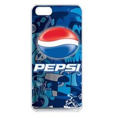 Pepsi Cans Apple Iphone 5 Seamless Case (white) by Samandel
