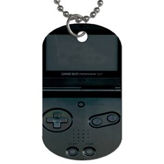 Game Boy Black Dog Tag (one Side)