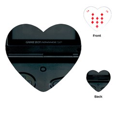 Game Boy Black Playing Cards (heart)