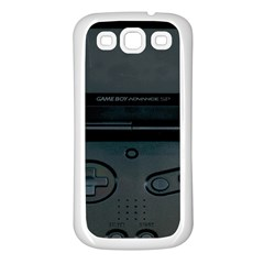 Game Boy Black Samsung Galaxy S3 Back Case (white)