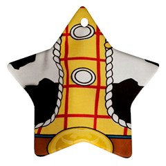 Woody Toy Story Star Ornament (two Sides)