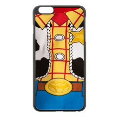 Woody Toy Story Apple Iphone 6 Plus/6s Plus Black Enamel Case