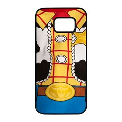 Woody Toy Story Samsung Galaxy S7 Edge Black Seamless Case