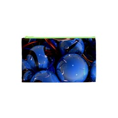 Spheres With Horns 3d Cosmetic Bag (xs)