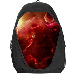 Space Red Backpack Bag