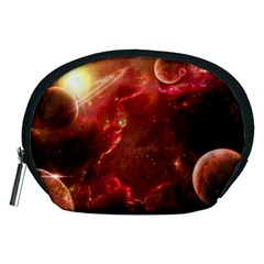 Space Red Accessory Pouches (medium)