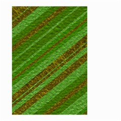 Stripes Course Texture Background Small Garden Flag (two Sides) by Sapixe