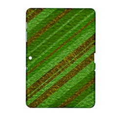 Stripes Course Texture Background Samsung Galaxy Tab 2 (10 1 ) P5100 Hardshell Case  by Sapixe