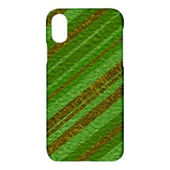 Stripes Course Texture Background Apple Iphone X Hardshell Case