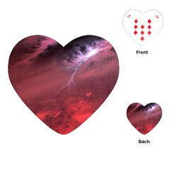 Storm Clouds And Rain Molten Iron May Be Common Occurrences Of Failed Stars Known As Brown Dwarfs Playing Cards (heart)