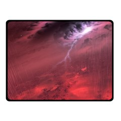 Storm Clouds And Rain Molten Iron May Be Common Occurrences Of Failed Stars Known As Brown Dwarfs Fleece Blanket (small) by Sapixe