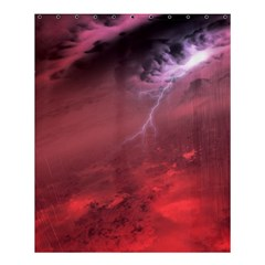 Storm Clouds And Rain Molten Iron May Be Common Occurrences Of Failed Stars Known As Brown Dwarfs Shower Curtain 60  X 72  (medium)  by Sapixe
