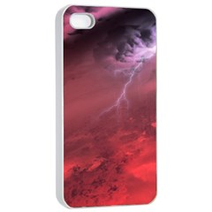 Storm Clouds And Rain Molten Iron May Be Common Occurrences Of Failed Stars Known As Brown Dwarfs Apple Iphone 4/4s Seamless Case (white) by Sapixe