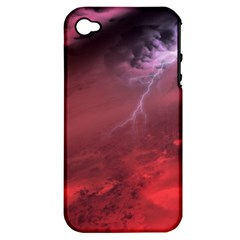 Storm Clouds And Rain Molten Iron May Be Common Occurrences Of Failed Stars Known As Brown Dwarfs Apple Iphone 4/4s Hardshell Case (pc+silicone) by Sapixe