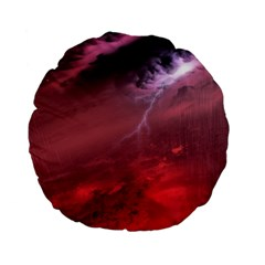 Storm Clouds And Rain Molten Iron May Be Common Occurrences Of Failed Stars Known As Brown Dwarfs Standard 15  Premium Flano Round Cushions by Sapixe
