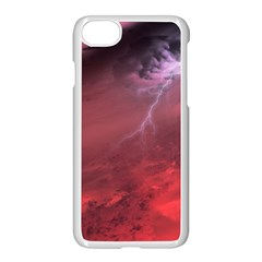 Storm Clouds And Rain Molten Iron May Be Common Occurrences Of Failed Stars Known As Brown Dwarfs Apple Iphone 8 Seamless Case (white) by Sapixe