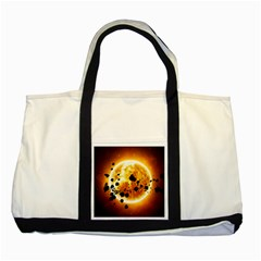 Sun Man Two Tone Tote Bag