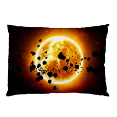 Sun Man Pillow Case (two Sides)